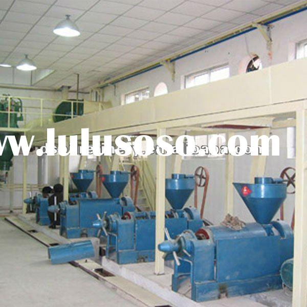 100TPD Soybean Oil Production Line
