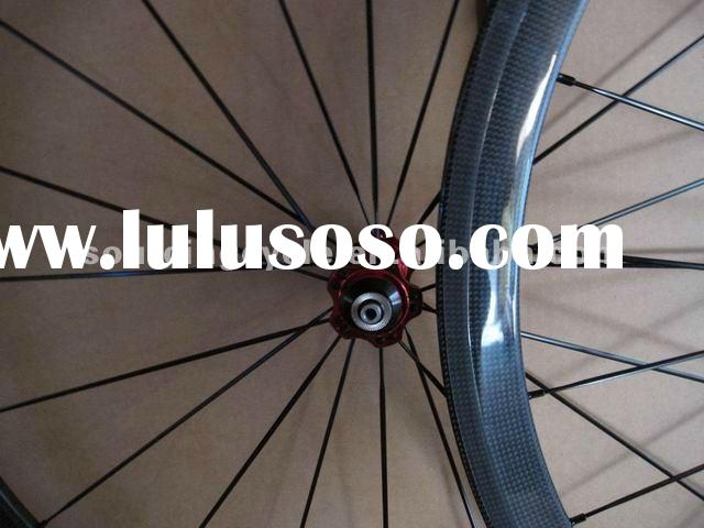 100% Lightweight Carbon Bicycle Wheels 700c 38mm, Carbon Clincher road Wheelset