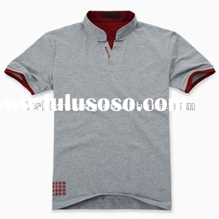 100%cotton cheap short sleeve design mens casual polo shirt