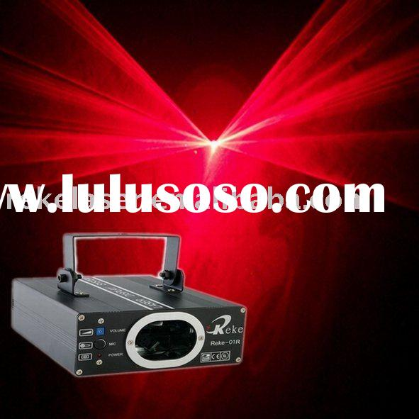 100mw 650nm red home laser light show equipment
