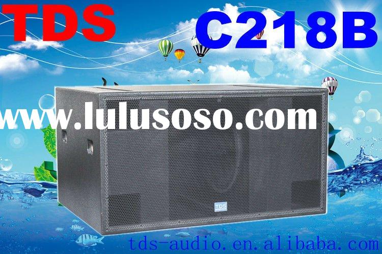 1200W, Dual 18 Inch High Power Subwoofer Speakers C218B