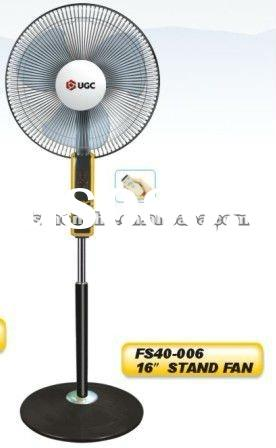 16 with remote control electric stand fan