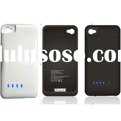 1900mah External Backup Battery Pack Case For iPhone 4G # 8190