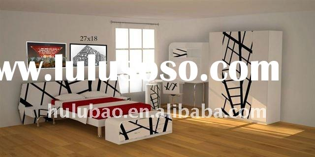 2011 New Design- MDF+ High Gloss UV Boy Furniture/Girl Furniture/Boy Bedroom Furniture/Girl Bedroom