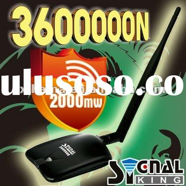 2011 Signalking 360000N 2000mW 10dBi Omni Antenna Ralink 3070 high-power wireless LAN card