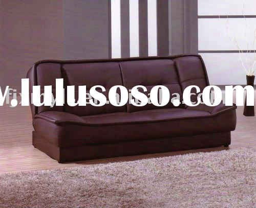 2011 best sale multifunctional Leather sofa bed