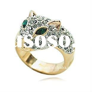 2011 fashion gold plated jewelry ring