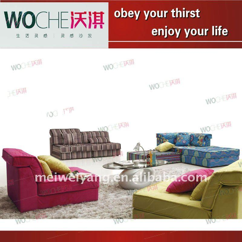 2011 modern fabric sofa new style furniture(WQ8950)