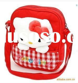 2011 newest design hello kitty school bag for 2~12 year-old girls