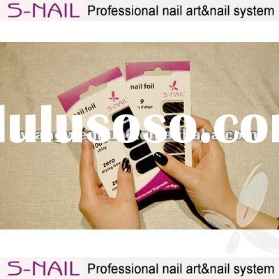 2012 nail art nail sticker nail foil