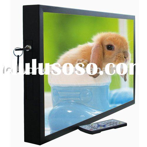 20 inch LCD Advertising Display with motion sensor