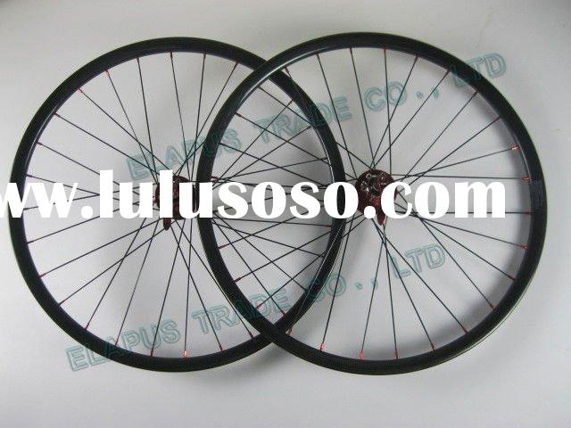 "26"" 23mm mountain bike wheels/Super Light full carbon MTB wheels 26"