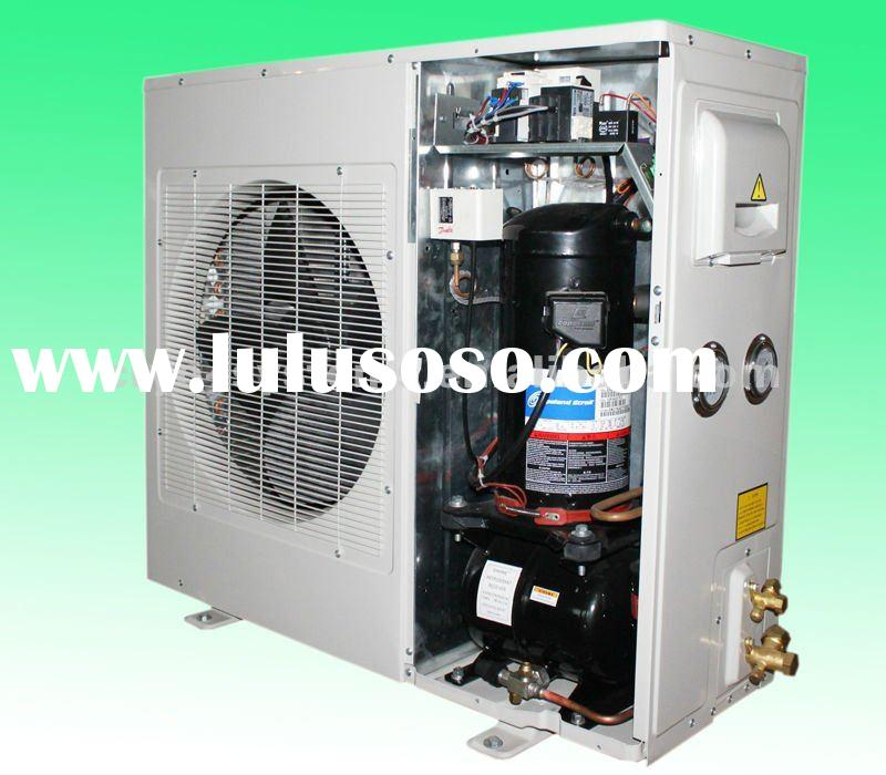 2HP Copeland box type condensing unit ; air-cooled outdoor compressor condensing unit for 30 cubic m