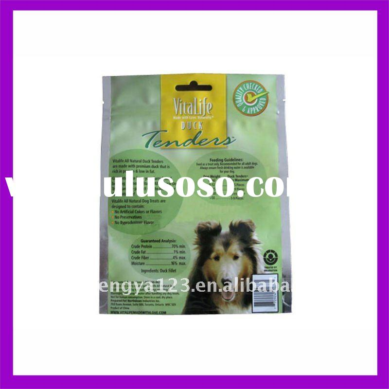 3-side sealed cat/dog/pet food bag