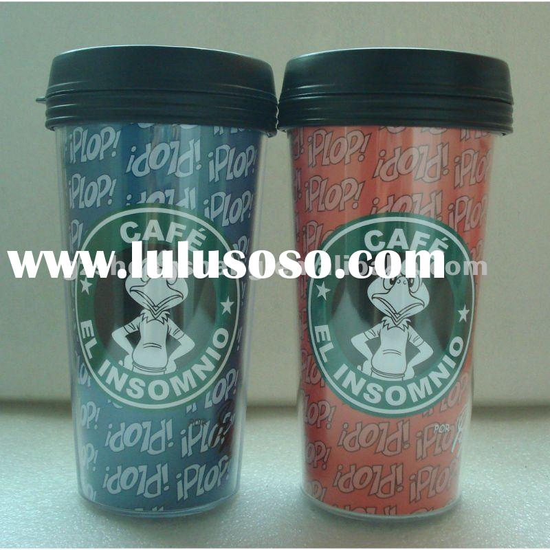 450ml double wall insert paper coffee cup (FDA ,SGS)