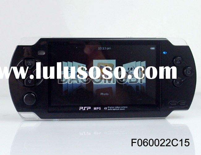 4GB/8GB 4.3 inch screen MP4 MP5 Game Player console with camera and TV-OUT