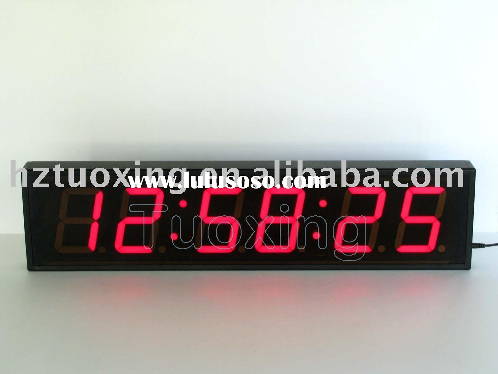 Led digital wall clock circuit diagram interior design large led wall clock large led wall clock manufacturers in amipublicfo Images