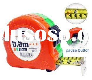 5.5M Tape Measure/ Steel Measuring Tape / ABS Case Tape Measure ( cm / inch Rule)