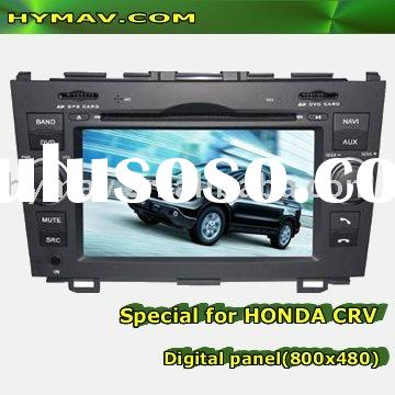 7' HD DIGITAL PANEL IN DASH CAR DVD PLAYER FOR HONDA CRV