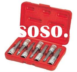 "7 PCS 1/2"" Dr. STAR BIT SOCKET SET (tamperproof 100mmL)"