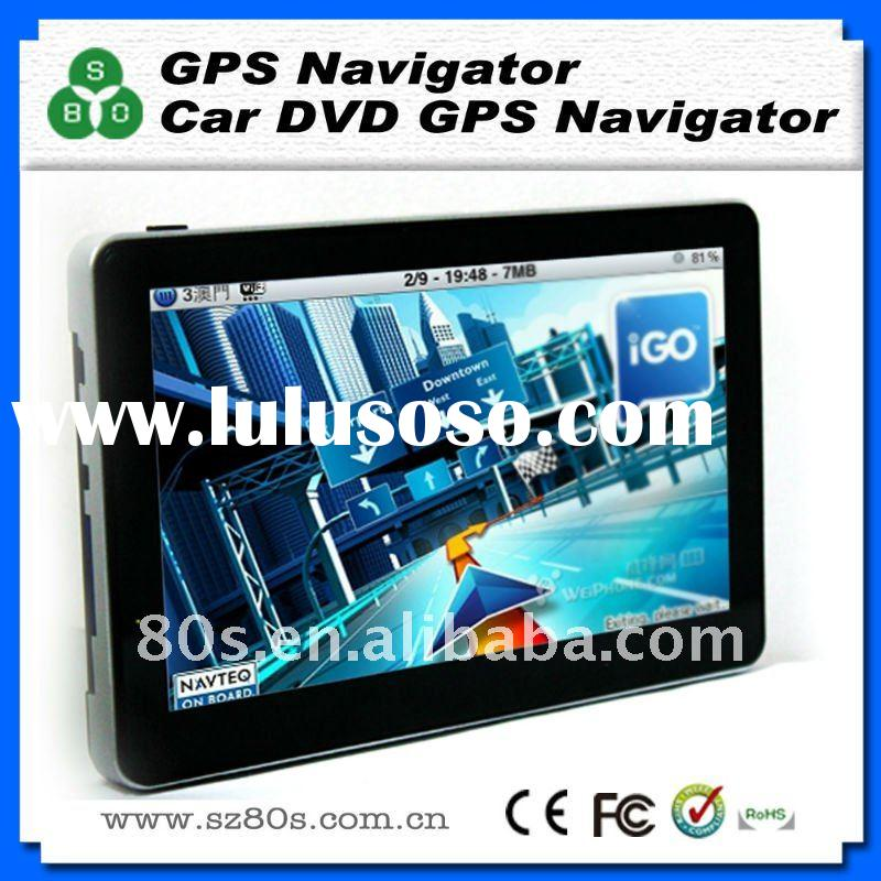 7 inch high definition slim gps navigation, car gps navigation,gps with free 2011 newest 3D map