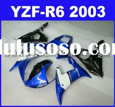 ABS Motorcycle Fairings kit For Yamaha YZF-R6 2003