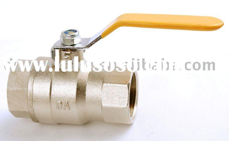 AGA approved full port brass gas valve