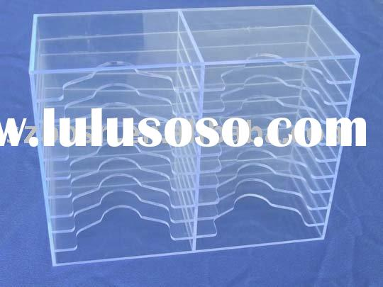Acrylic CD DVD Rack,Perspex CD DVD Holder,Plexiglass CD DVD Stand