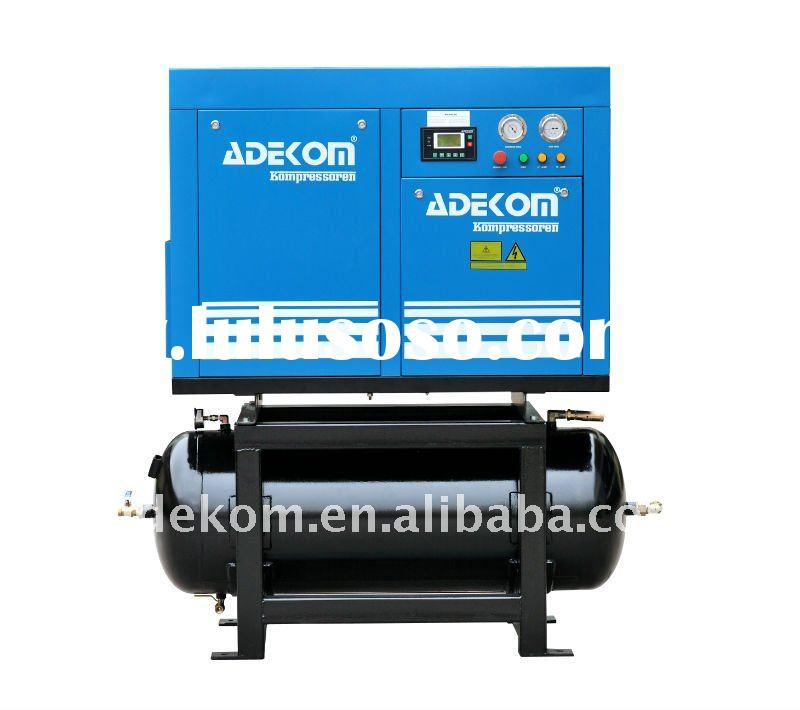 Adekom air compressor rotary screw type