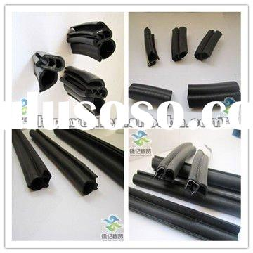 Aluminum door and window rubber edge trim