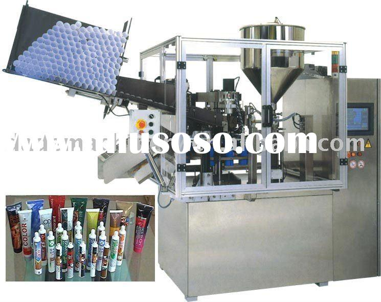 Automatic Toothpaste Tubes Filling Sealing Machine