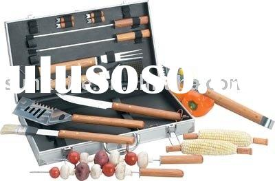 BBQ set bbq equipment stainless steel bbq set bbq tool set bbq kit 0911