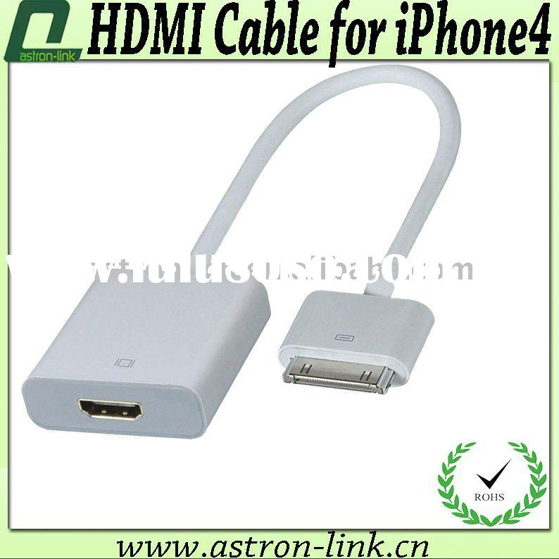 BT-HD30W0M12-MF High Quality HDMI Cable for iPhone4