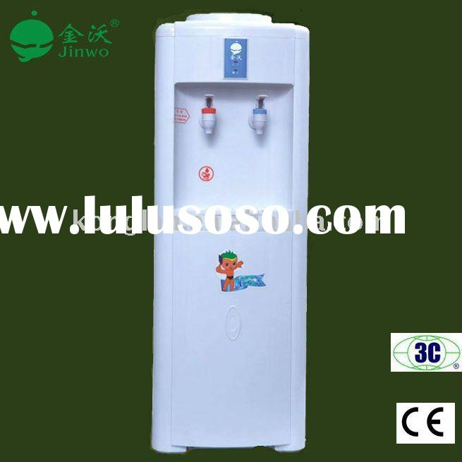 Bottled floor standing hot and cold water dispenser ,water cooling