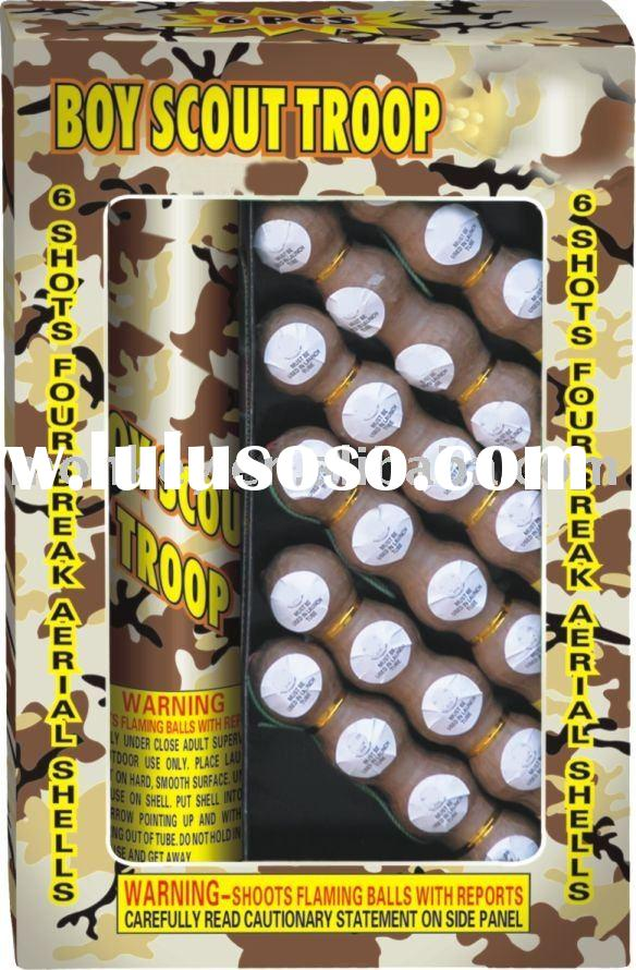 Boy Scout Troop Artillery Shell Fireworks
