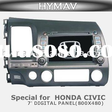 CAR DVD GPS,7 inch in dash Auto car dvd player special for honda new civic