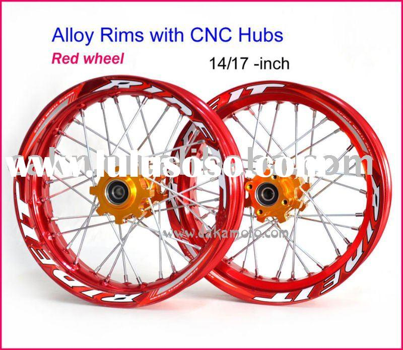 CNC Wheel Rim pit bike / dirt bike aluminum wheels / rims