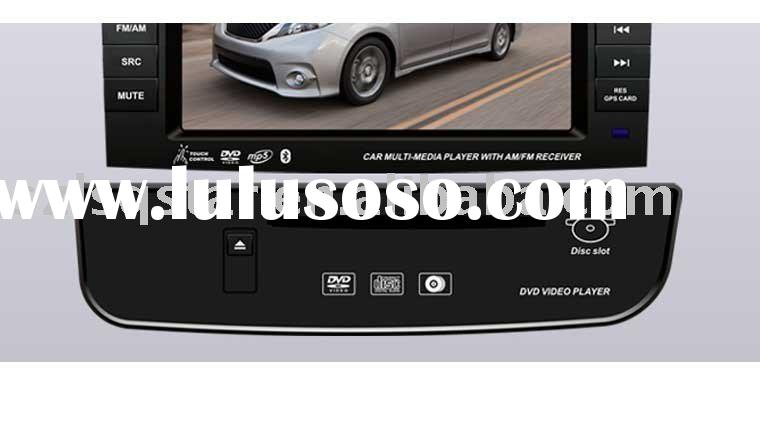 Car lcd tv Monitor for TOYOTA SIENNA Bulit-in GPS\Bluetooth\canbus\USB,SD&MMC slot\DVD.ST-T810T