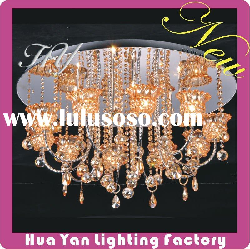 Cheap Modern Crystal Ceiling Light, Lighting , Modern lamp