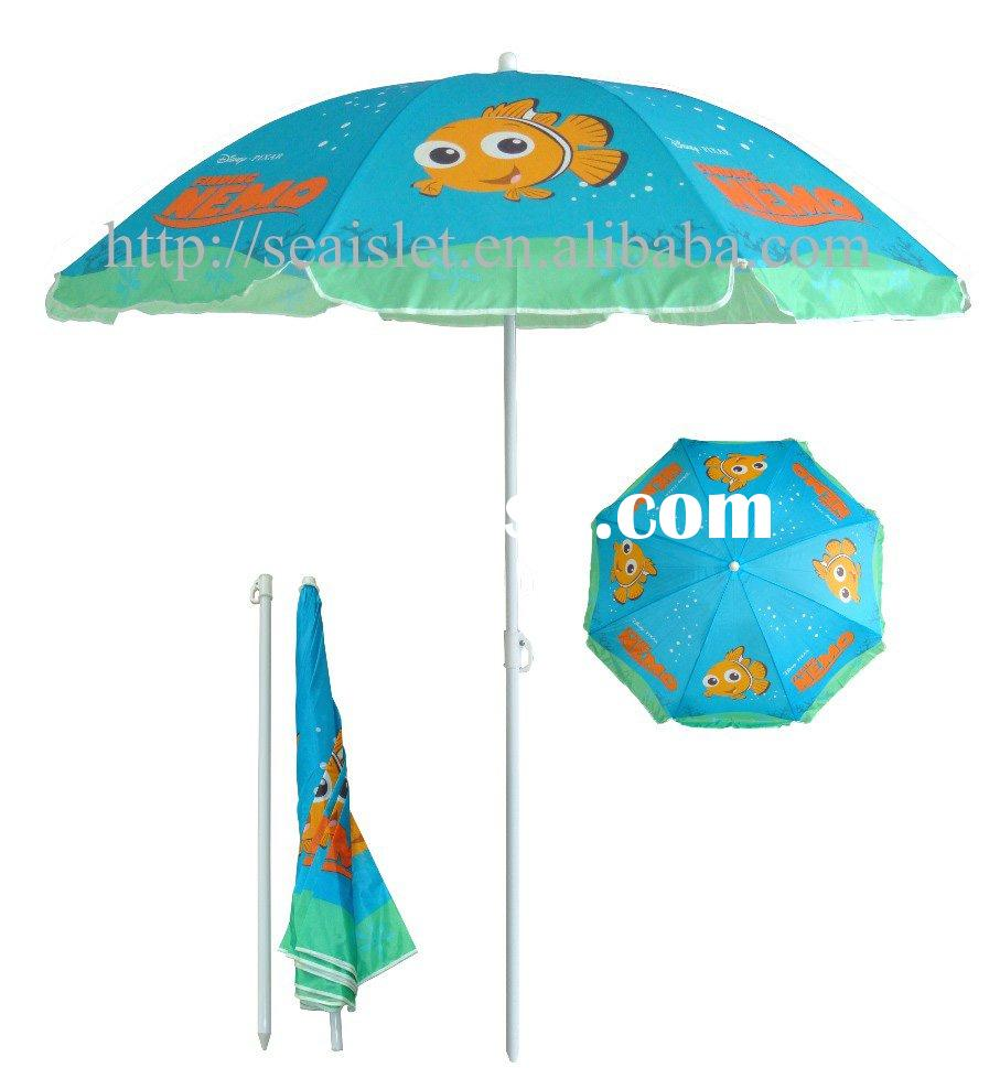 Cheap beach umbrella with 190T polyester