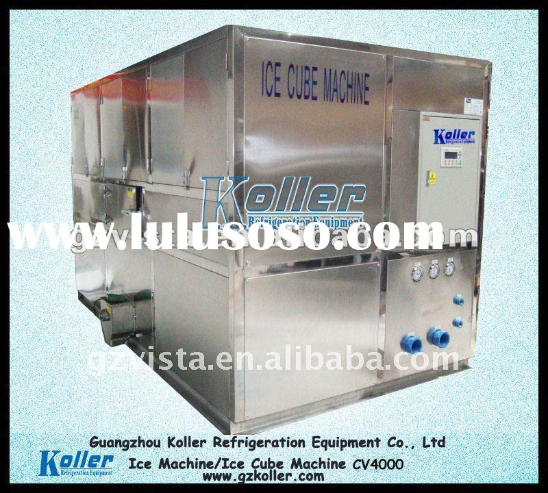 Commercial Food-grade Cube Ice Making Machine with High Quality