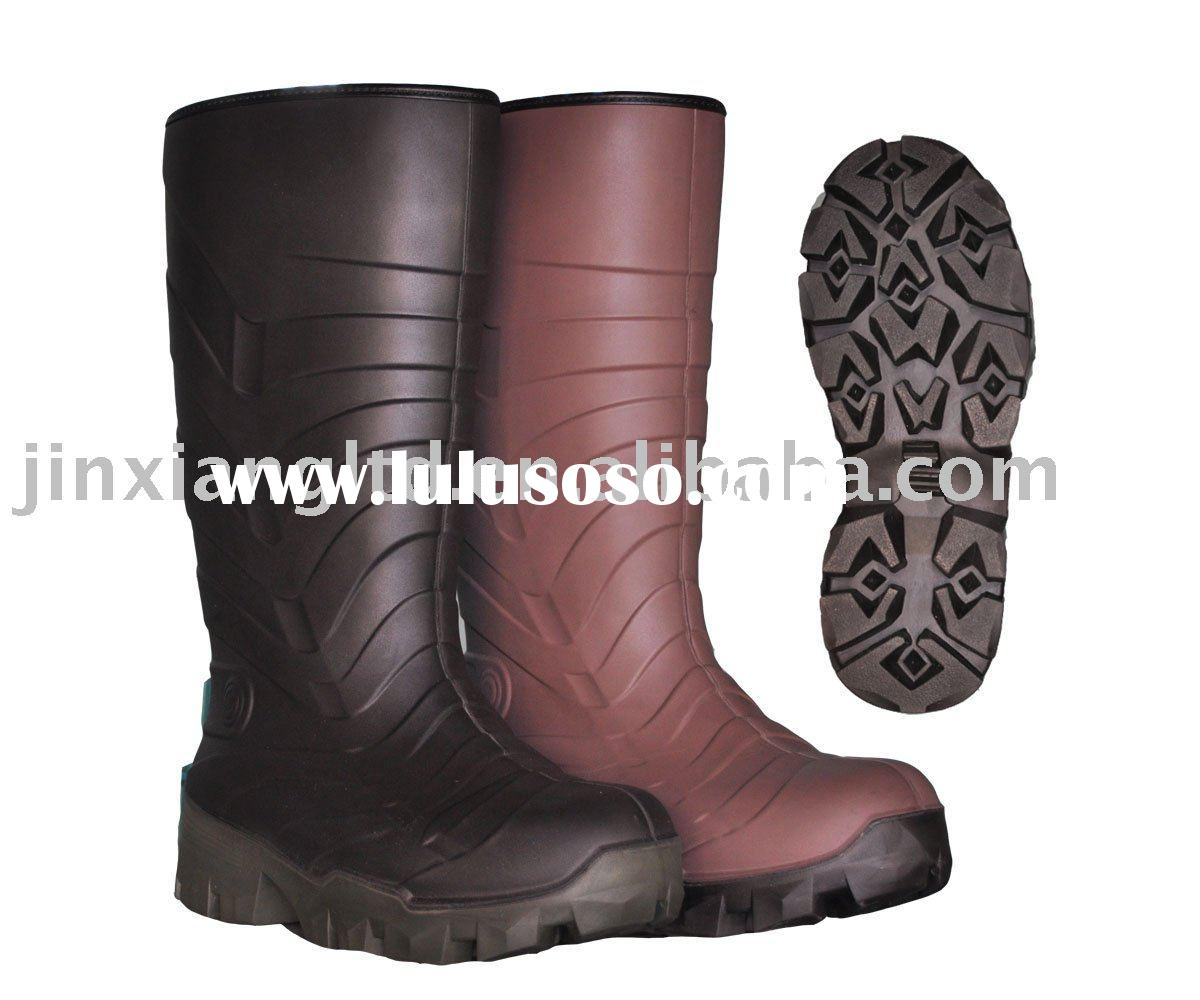 Cool style PU safety Gum Boot