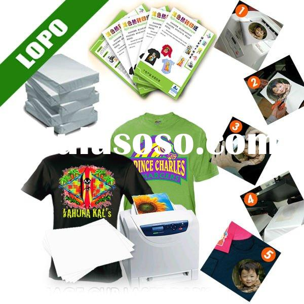 Dark Color T shirt Transfer Paper for Laser Printer