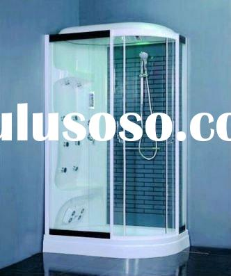 Deluxe shower rooms sauna steam rooms with hydromassage body jets ZY-1014(L/R)