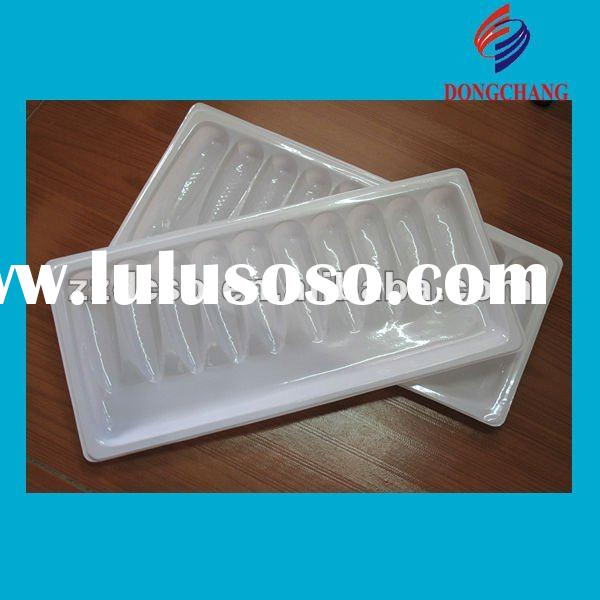 Disposable frozen food plastic tray/container/plastic tray for frozen product