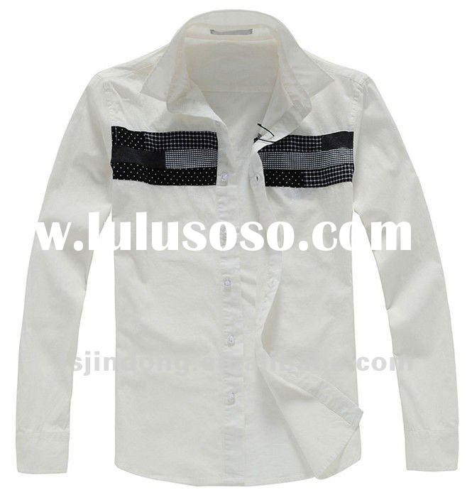 Dress shirt for men,Casual white shirts,Men slim fit shirt =JD-MJX0037