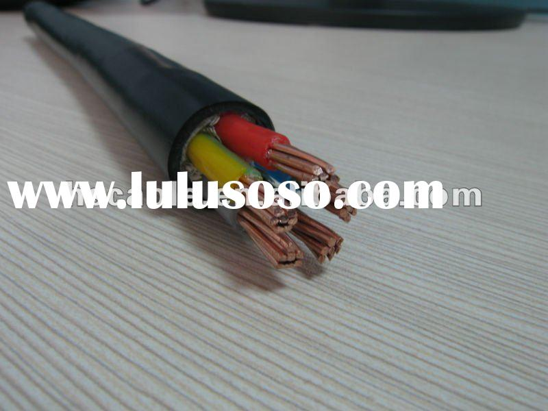 Factory Manufacture 4*16mm2 XLPE Insulated PVC Jacket Power Cable