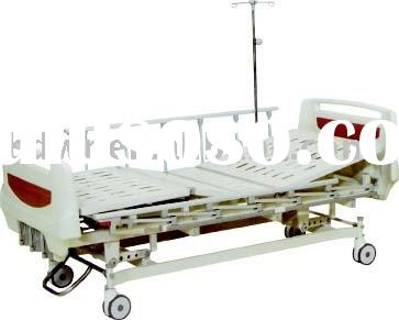Five-function rise-and-fall hydraulic bed,medical bed,hospital bed