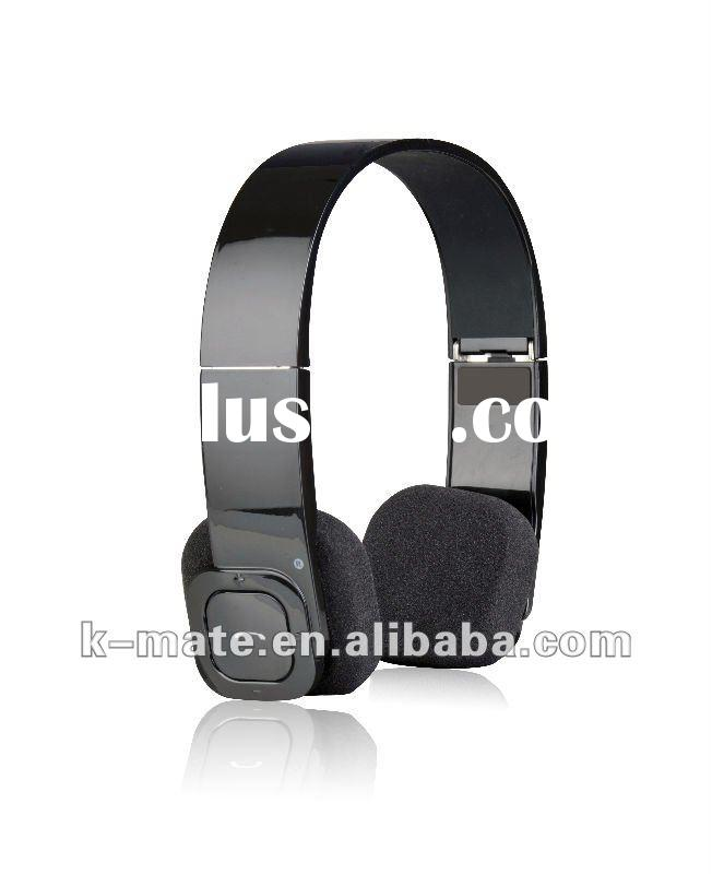 Foldable Bluetooth Stereo Headset with touch button