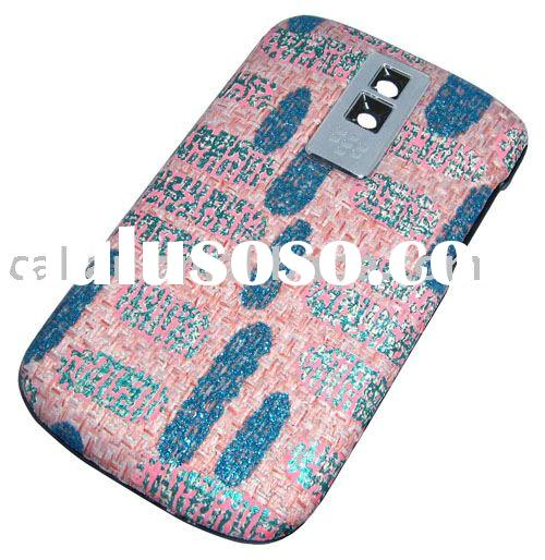 For BlackBerry Bold 9000 Pink-A colour battery door cover faceplate